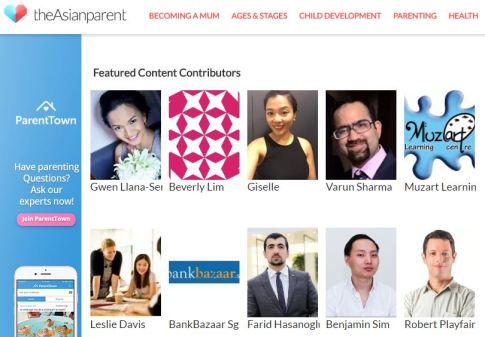 featured content contributors