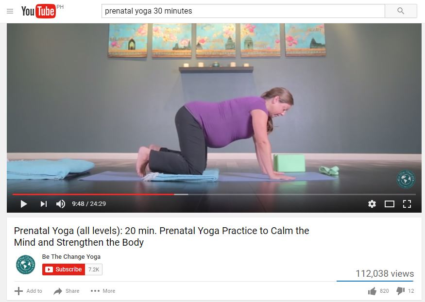prenatal yoga, yoga for pregnant