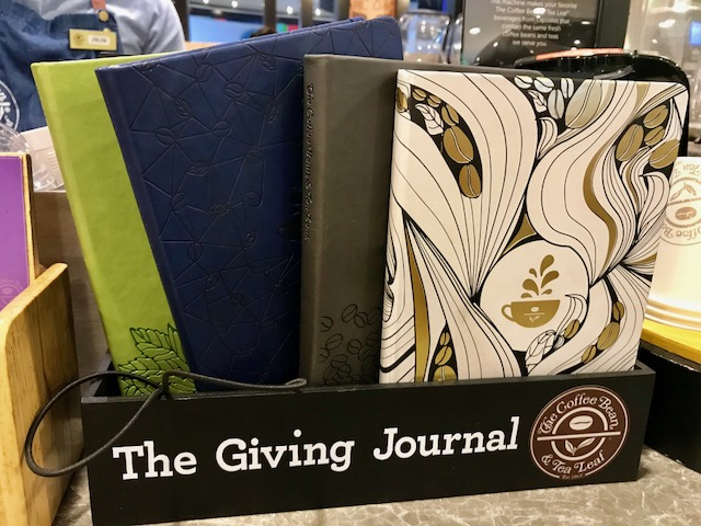 coffee bean planner 2018, coffee bean journal, cbtl planner