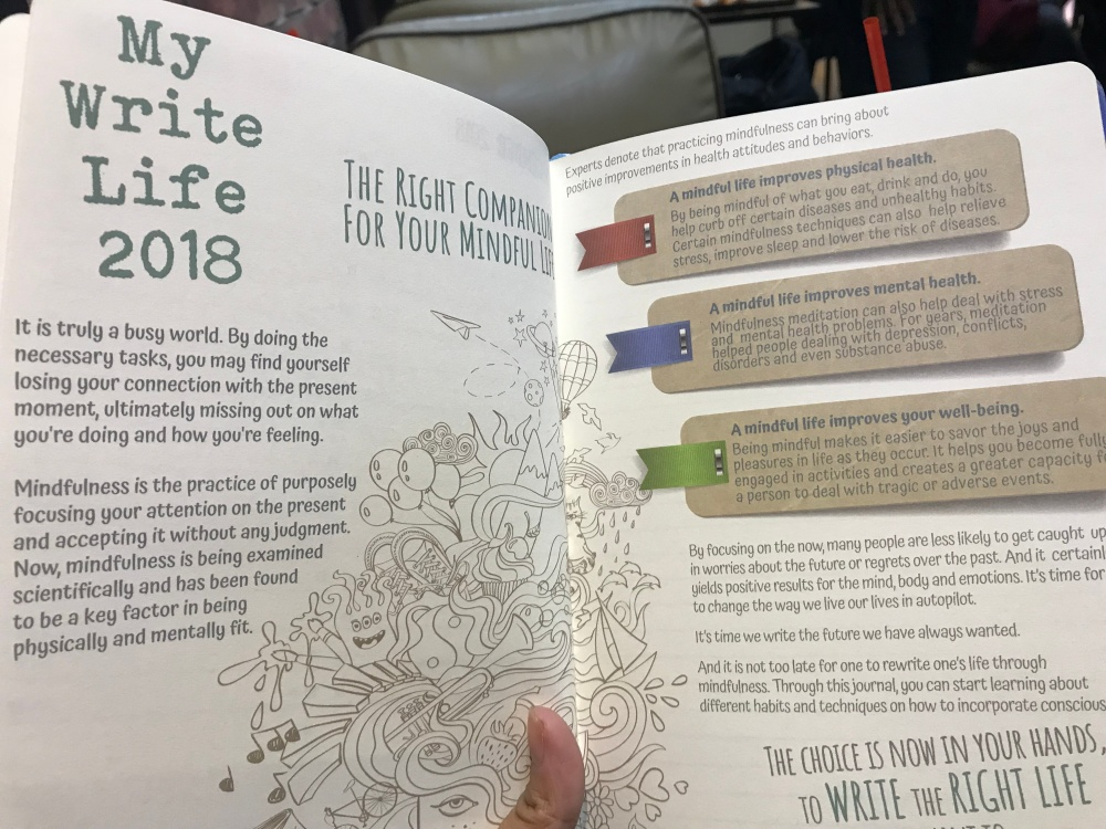 My Write Life 2018, Mercury Drug planner 2018, Mercury Drug 2018 planner, Mercury Drug Suki Card, Mercury Drug organizer 2018