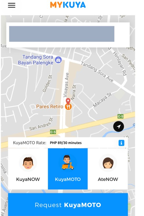 My Kuya mobile app, errands services philippines, personal assistant philippines, online personal assistant, online errands services