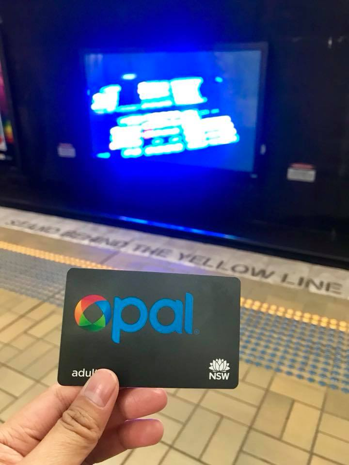 opal card, sydney transportation, sydney train, sydney subway
