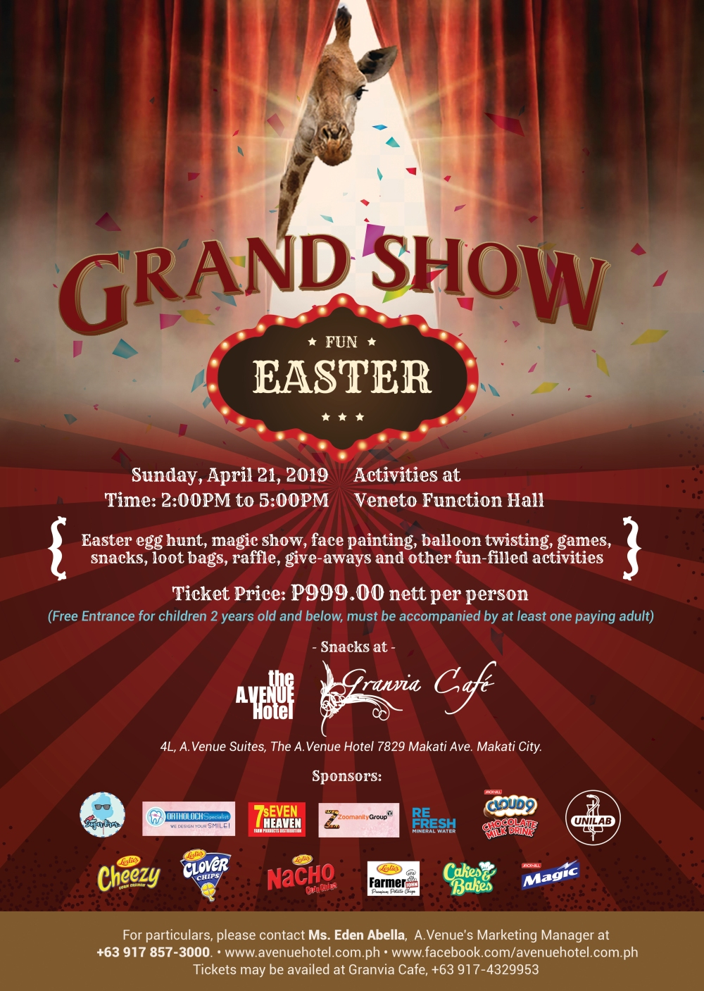 Easter Grandshow April 21, 2019