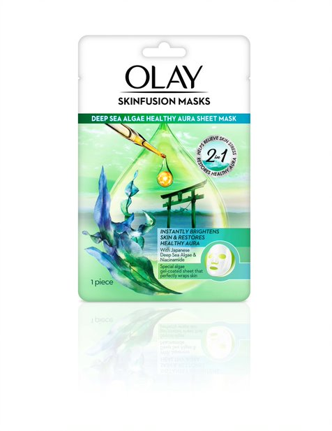 Deep Sea Algae Healthy Aura Sheet Mask