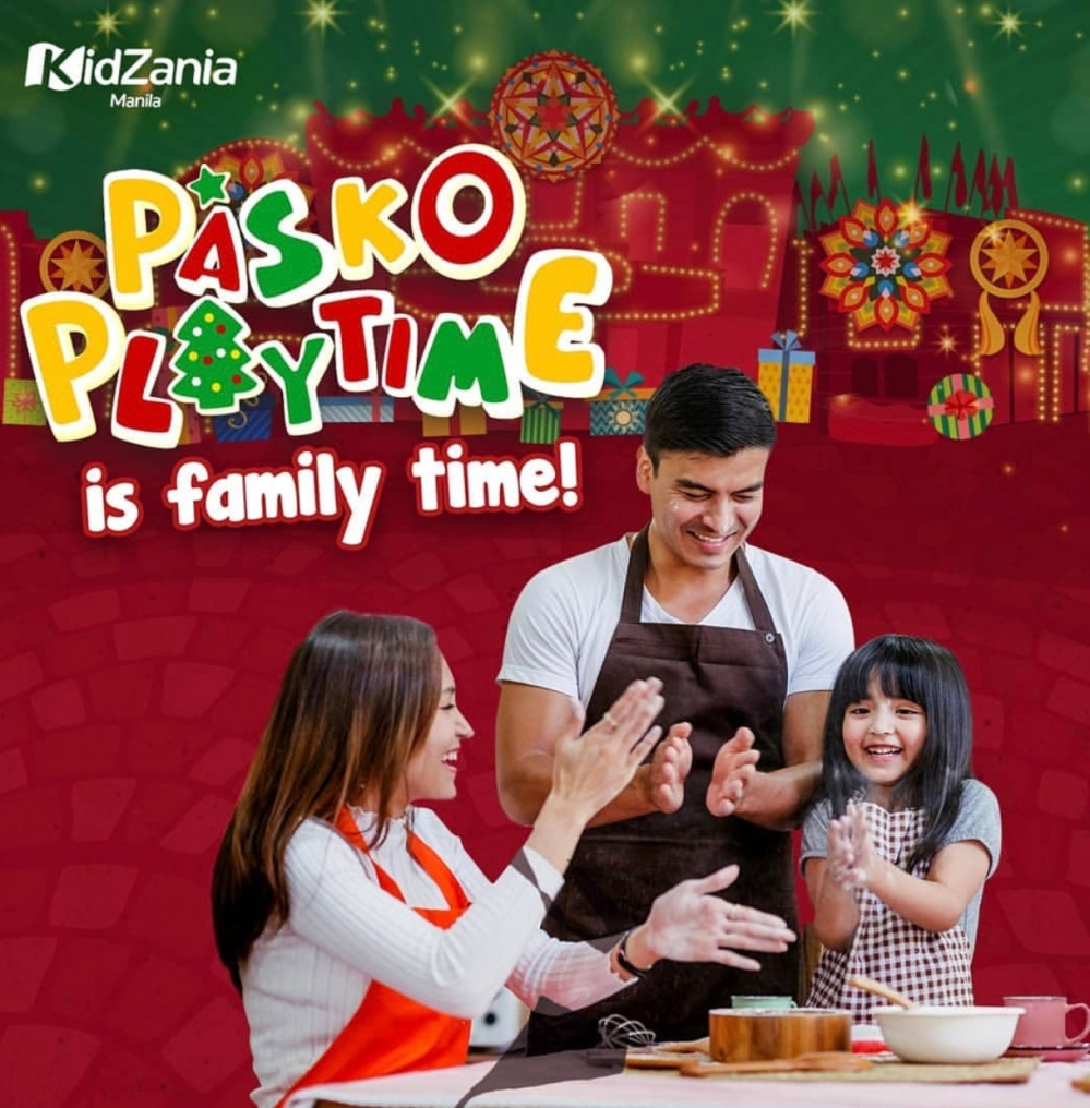 Parents can play with their kids this Christmas season in KidZania Manila's Pasko Playtime